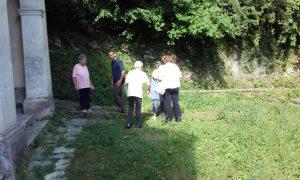 Arrivo al santuario della Madonna del Piastraio dal sentiero di Stazzema