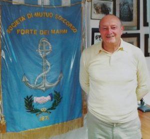 """Umberto Tommasi, foto tratta dal volume """"143 anni di solidarietà"""", Storia della società di mutuo soccorso di Forte dei Marmi"""