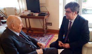 Fontana intervista il Presidente emerito Giorgio Napolitano
