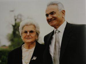 Vando e mamma Mite D'Angiolo
