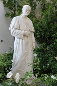 La statua di Papa san Giovanni Paolo II