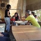 In visita alle case dei profughi siriani