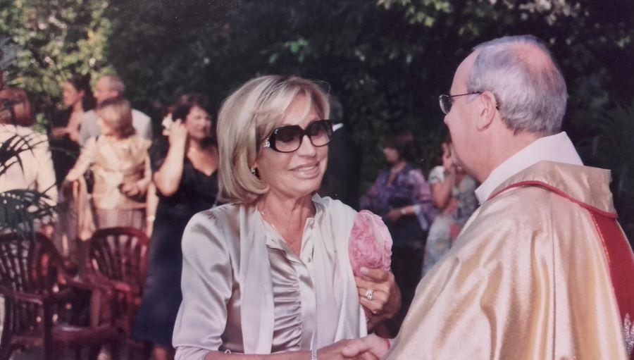Don Piero e Nadia Viacava